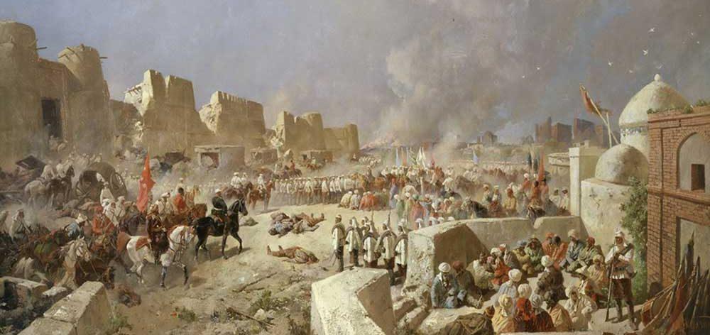 Русский Самарканд: исчезновение крепости Тамерлана