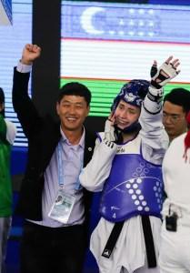 Узбекская таэквондистка Светлана Осипова завоевала путевку на Токио-2021