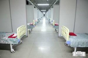 Распределительные COVID-центры снова разворачивают в «УзЭКСПО» и СК в Ташкенте