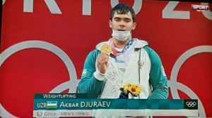 Токио-2020: золото взял штангист Акбар Джураев
