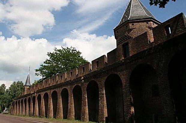 Amersfoort stadsmuur achterzijde