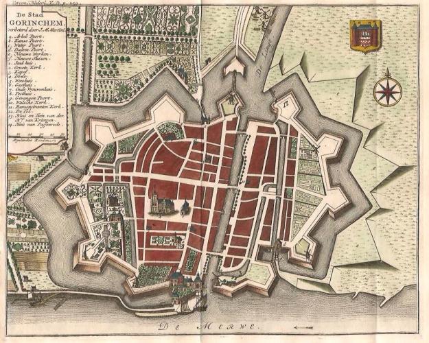 Kopergravure 1745