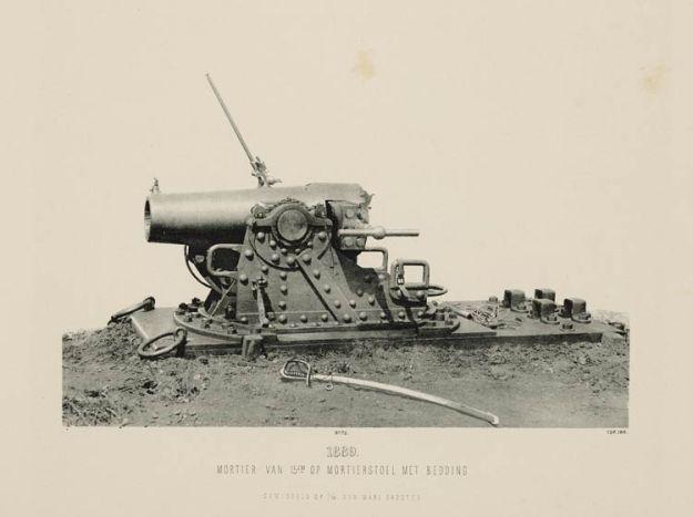 Mortier 15cm 1889