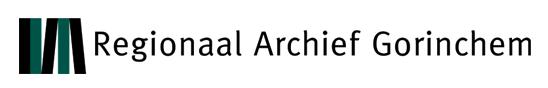 logo regionaal archief Gorinchem