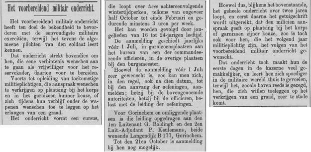 Nieuwe Gorinchemsche Courant, 12/10/1899