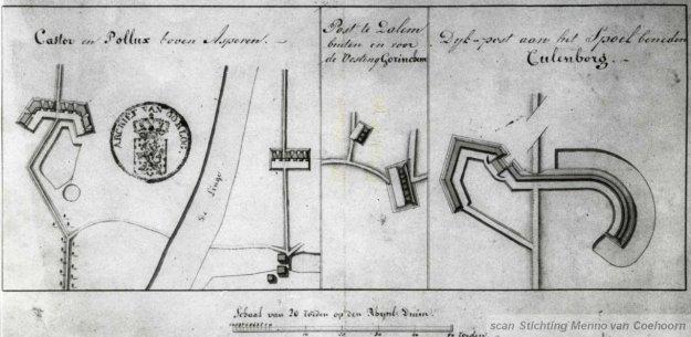 Dijkposten Castor - Pollux - Dalem - 't Spoel
