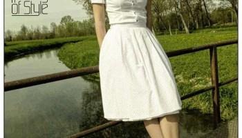 best website ffb5a af0e4 Abito modello Marilyn Monroe anni 50 sartoriale - Vestiti ...