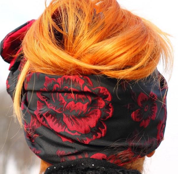 Fascia per capelli modellabile anni 50
