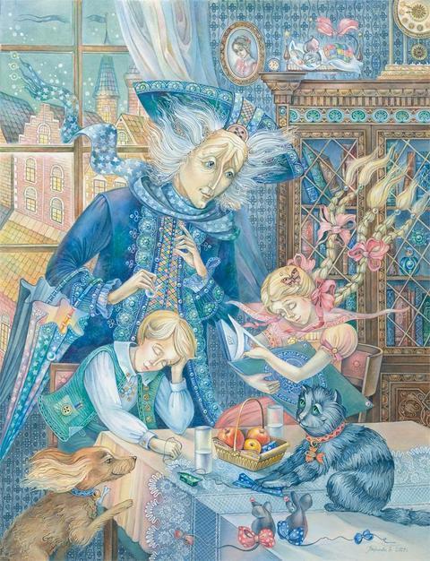 Иллюстрации к произведениям самого известного датского сказочника