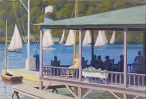 "Д. Лиман ""В яхт-клубе"", McMichael Can Art Gallery"