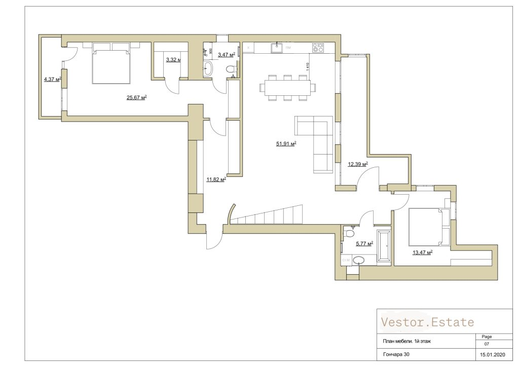 honchara 30a apartment plan