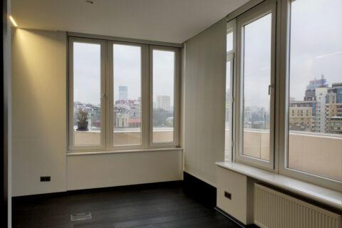 big windows with nice view