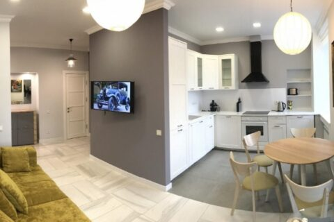 small cozy apartment