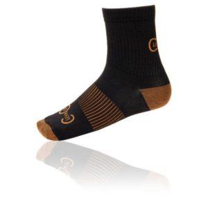 Les chaussettes de compression avec cuivre