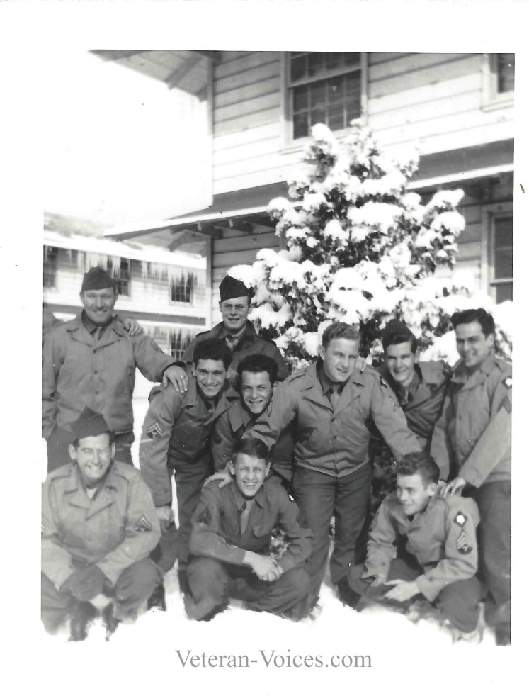 Fourth Army in the snow
