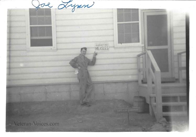 Ellery Joseph Lynn Quarantined.