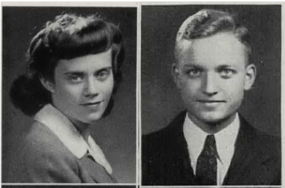 Jean Lucille Craig and George Peck Mell