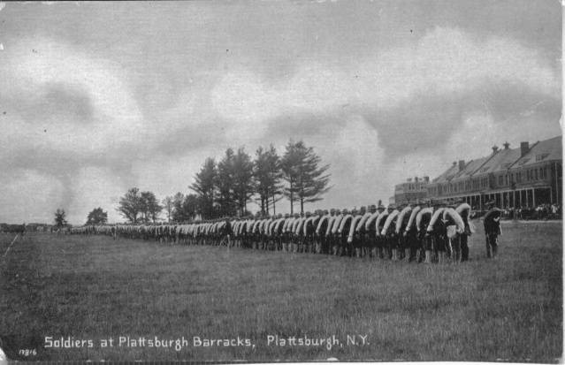 Plattsburgh Barracks Spanish American War