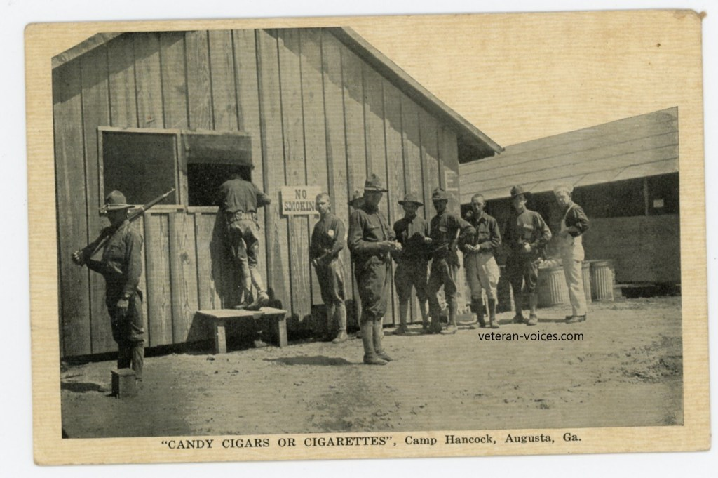 """Candy Cigars or Cigarettes, Camp Hancock, Augusta, Georgia"""