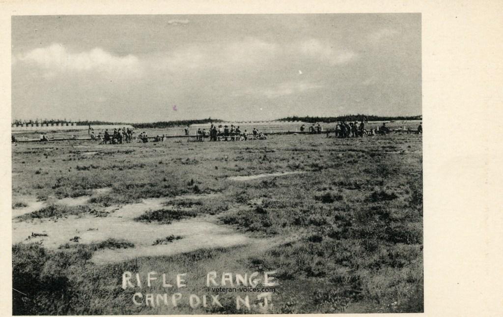 Rifle Range at Camp Dix, New Jersey