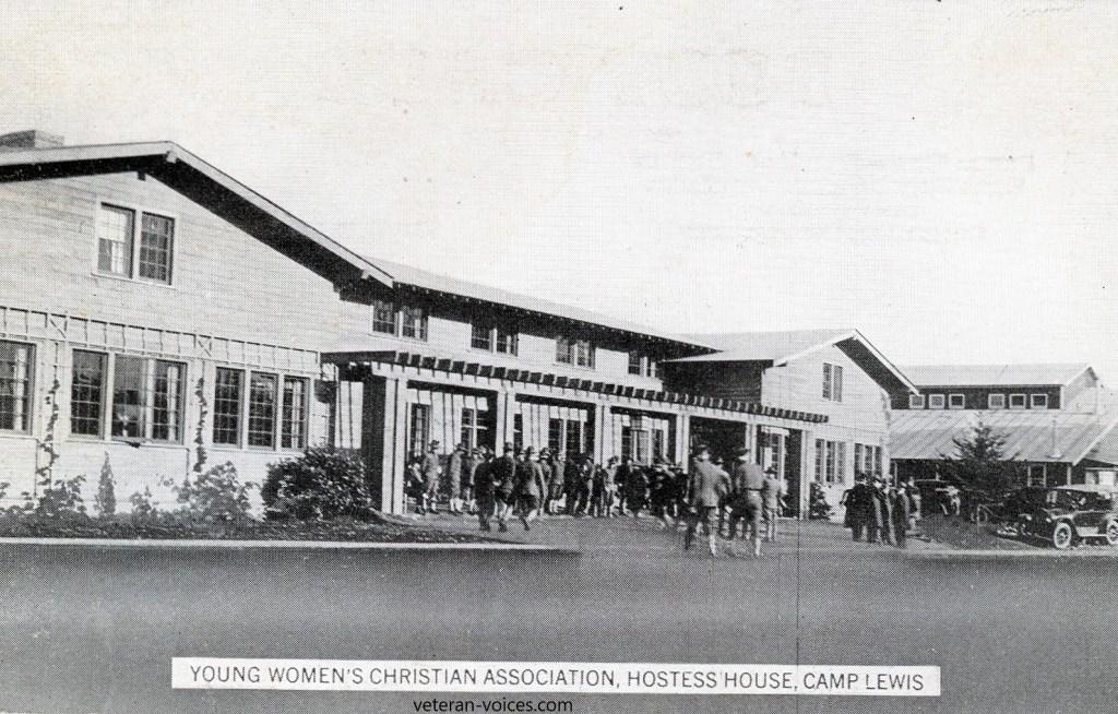 """Young Women's Christian Association, Hostess' House, Camp Lewis"""