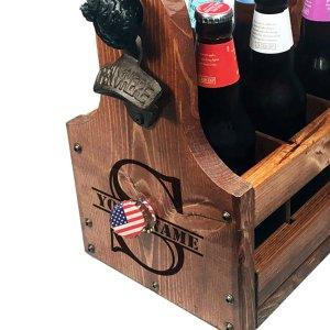 Beer Caddy Magnetic Drop Catch