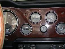 Dashboard Detail Triumph TR
