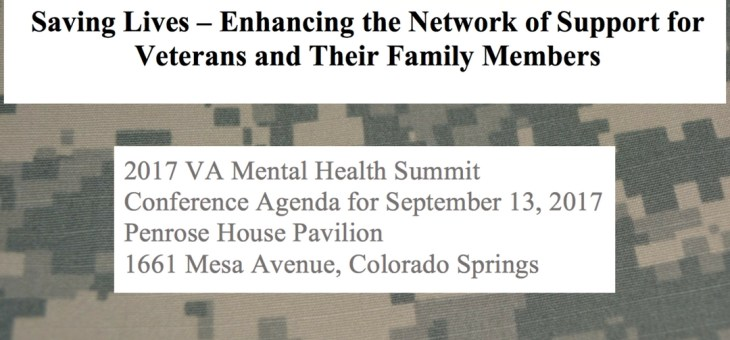HS&T Extra: Colorado Mental Health Summit Announcement
