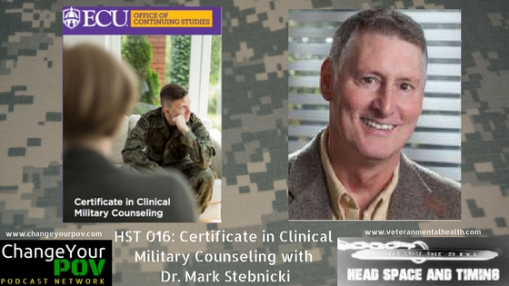 HST 016: Certificate in Clinical Military Counseling with Dr. Mark Stebnicki