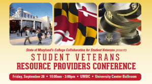 Information on the Student Veterans Resource Providers Conference