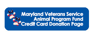 Maryland Veterans Service Animal Program Fund Credit Card Donation Page