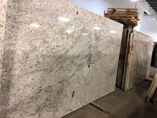 Marble Material in a warehouse