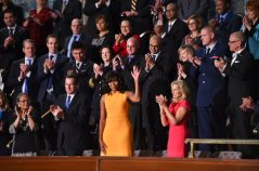 Cynthia Dias seated 2nd from First Lady Michelle Obama!!!! Veterans Village is proud and honored. #SOTU 2016