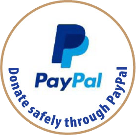 Donate safely through PayPal