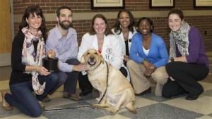Purdue University Vet School Team