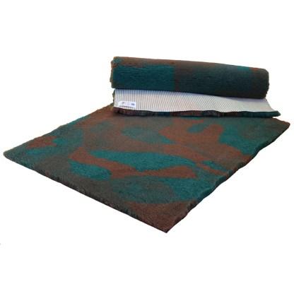 Vetfleece Non-Slip Camoflage Green Brown