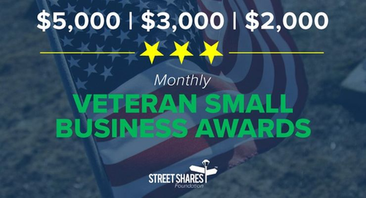 StreetShares Foundation Rewards Exceptional Veteran Business Owners with 3 Awards Monthly
