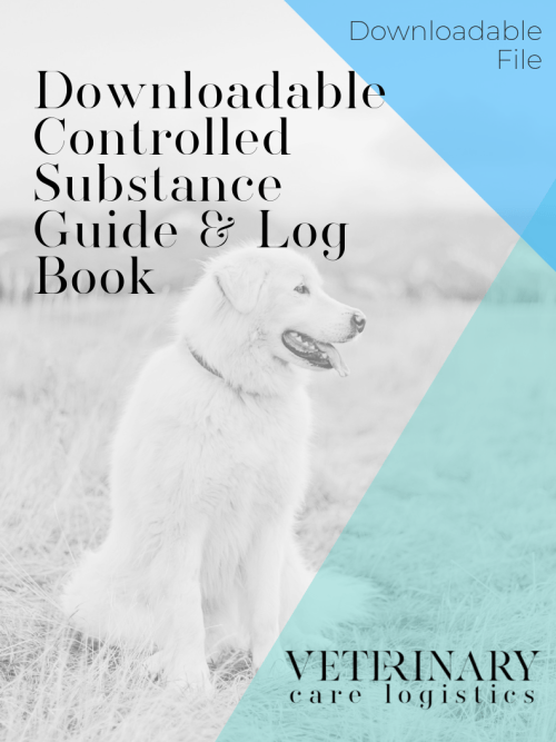 downloadable controlled substance guide and log book