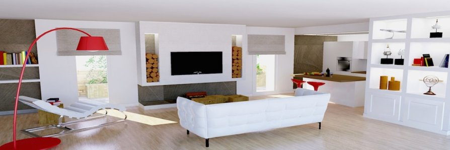 Arco Per Dividere Soggiorno E Cucina.Soluzioni Open Space Unire Salone E Cucina Vetrinafacile It