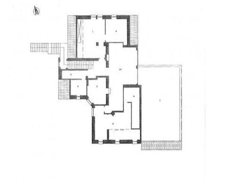 Planimetria appartamento | attico | Roma cassia