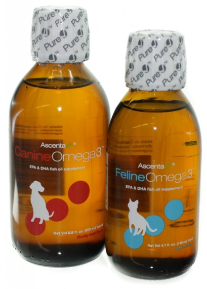 Ascenta Omega 3 for Pets with PureCheck