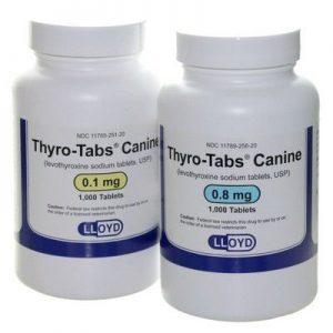 Visit VetRxDirect for Thyro-Tabs Canine Levothyroxine