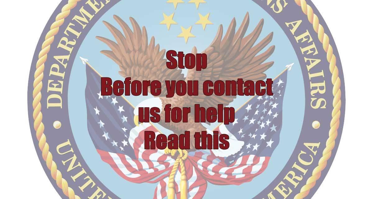 Veteran in need of help? Click Here #VetsForTrump