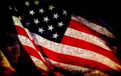 American Flag – U.S. Flag 'Primes' Voters Toward Republican Viewpoints #VetsForTrump