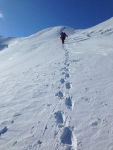 Climbing to the summit of Gran Paradiso