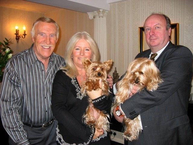Bruce Forsyth, Debbie Matthews & Richard Matthews