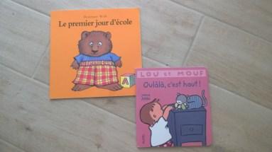 2 livres neufs (1€ chacun)
