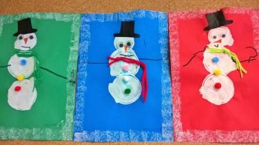 bonhomme de neige 2 maternelle