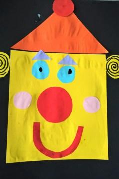étape 6 clown