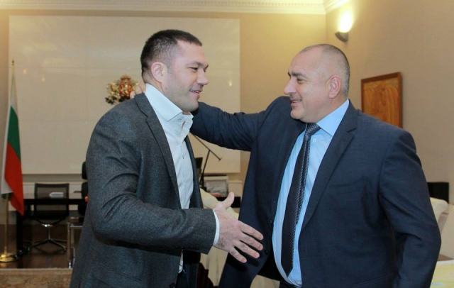 Бойко Борисов и Кубрат Пулев